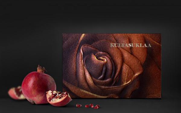 Kultasuklaa Rose
