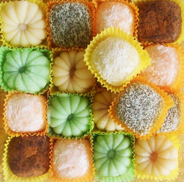 Китайские рисовые пирожные