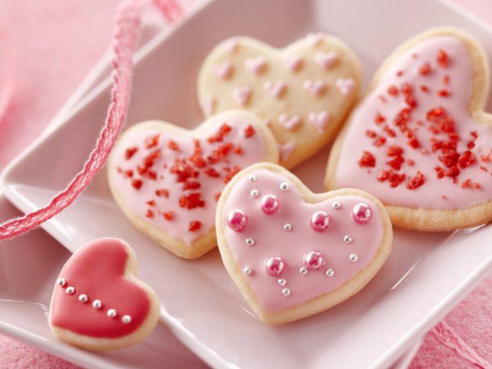 Печенье с кондитерскими бусинами