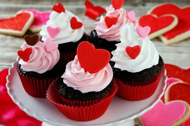 Сердечные кексы