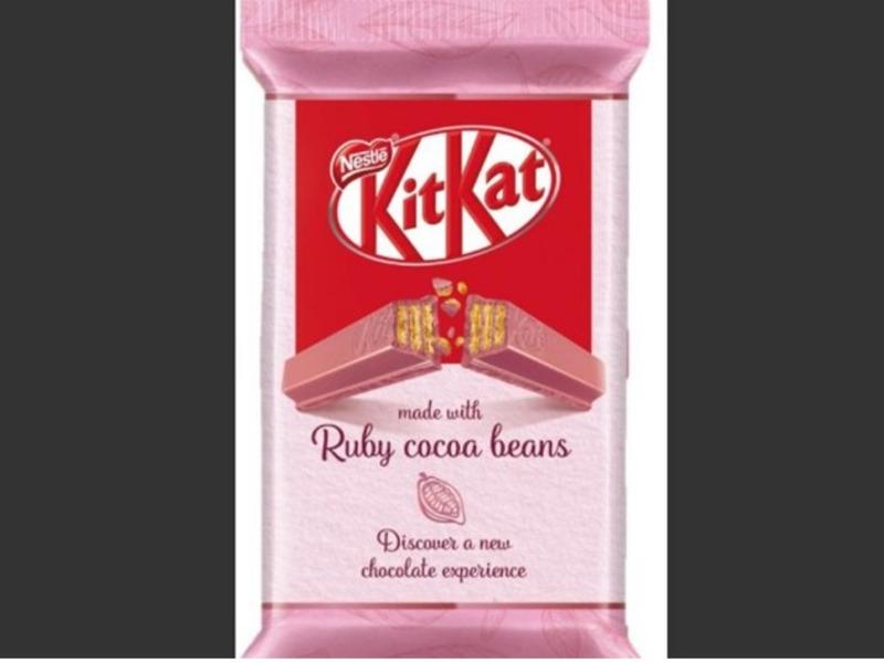 Розовый шоколад Ruby отKitKat добрался и до России