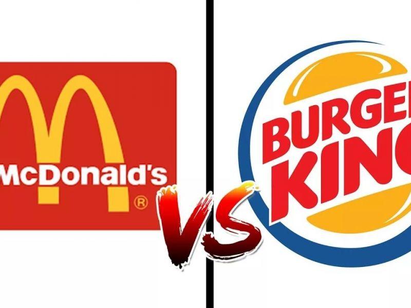Что вам нравится больше: Макдональдс или Бургер Кинг?