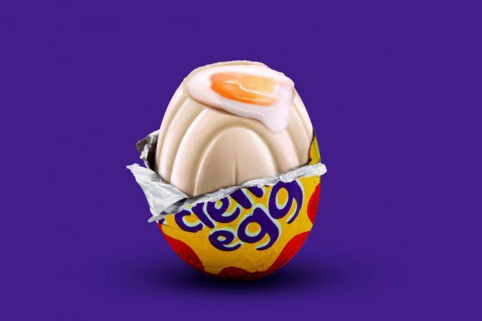 яйцо cadbury
