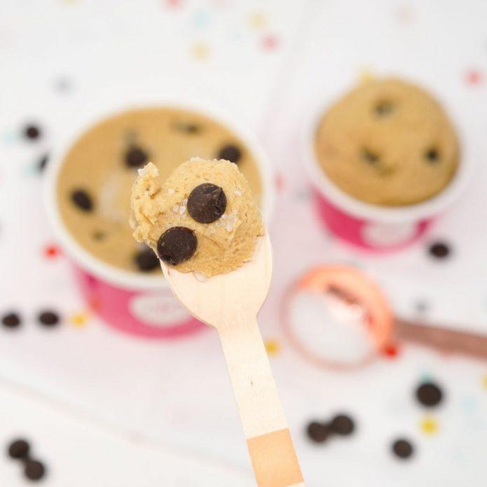 мороженое из теста