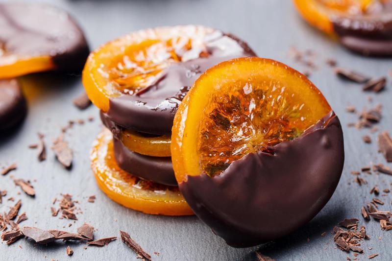 шоколад и цитрусовые