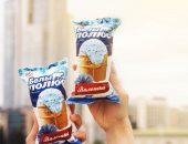 васильковое мороженое