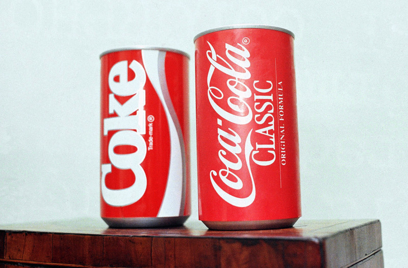 Coca-Cola выпустит лимитированную серию напитков New Coke родом из 1980-х
