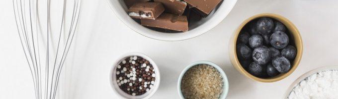 мука и шоколад