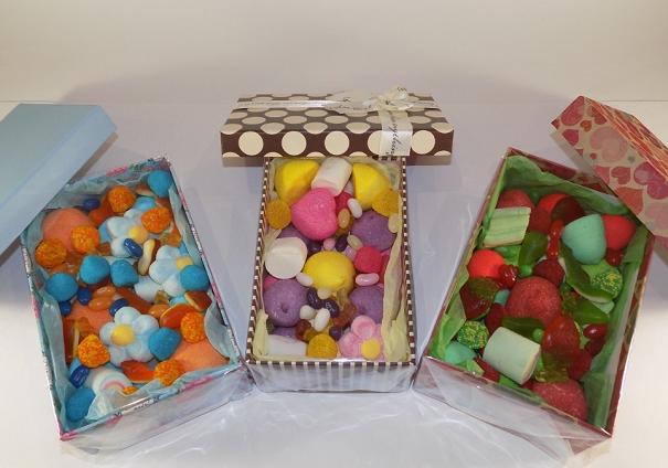 Коробки со сладостями
