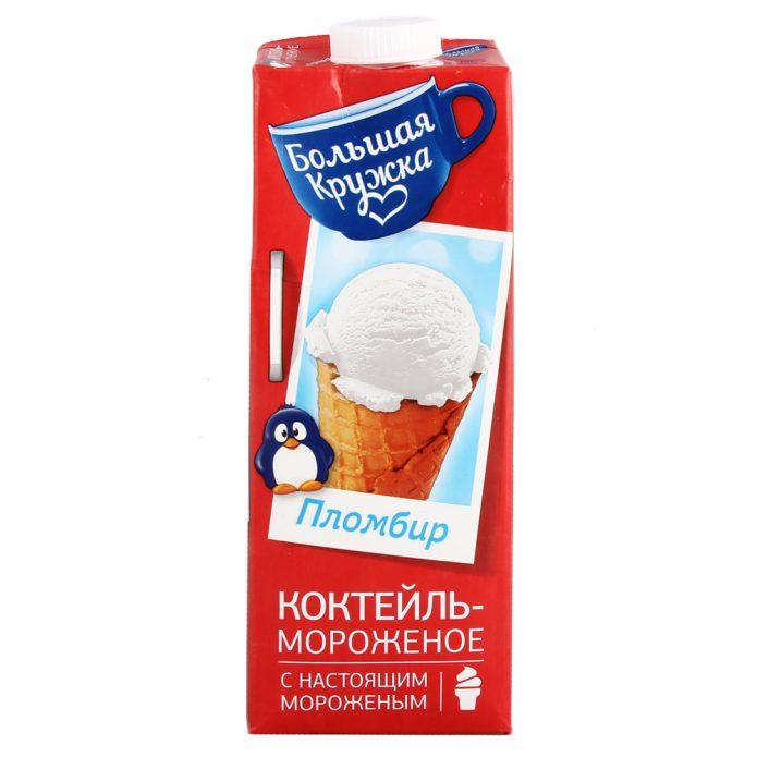 Молочные коктейли «Большая кружка»