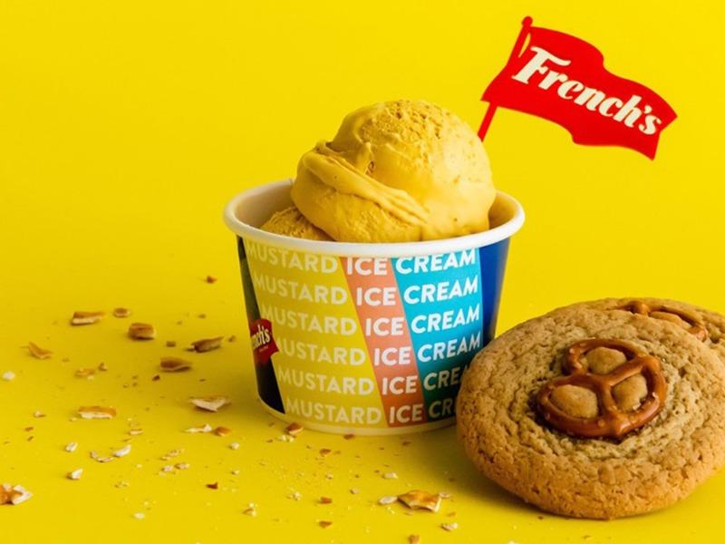 горчичное мороженое