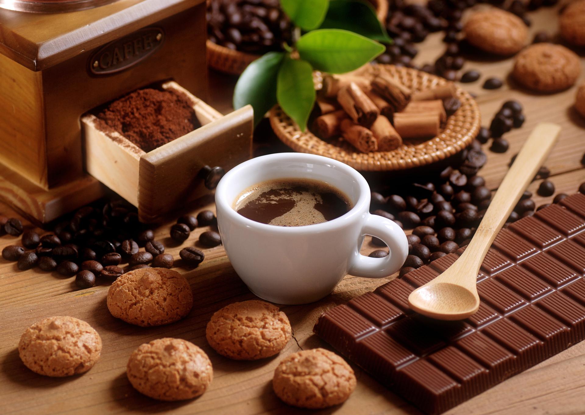 Открытки шоколад и чай