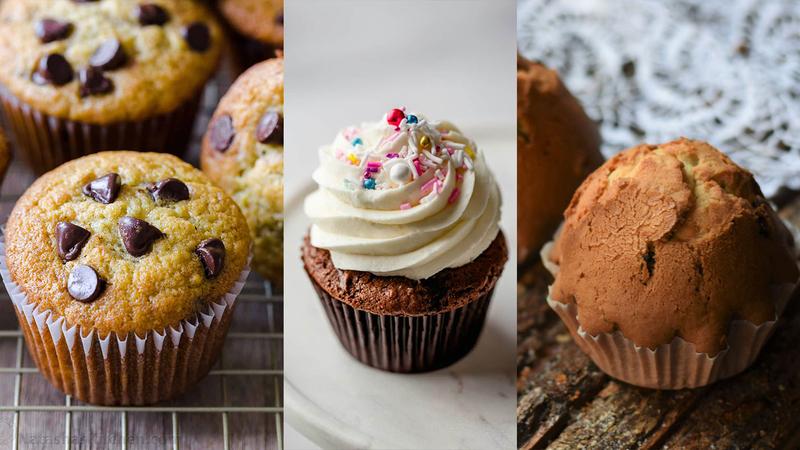 Маффины, капкейки и кексы: чем они отличаются