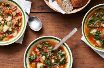 суп на столе