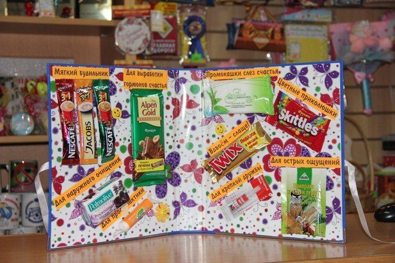 Подарки открытки из сладостей, корзина розами картинки