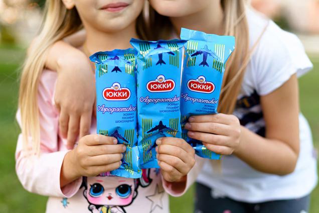 «Санта Бремор» вместе с фабрикой «Спартак» выпустили мороженое «ЮККИ Аэрофлотское»