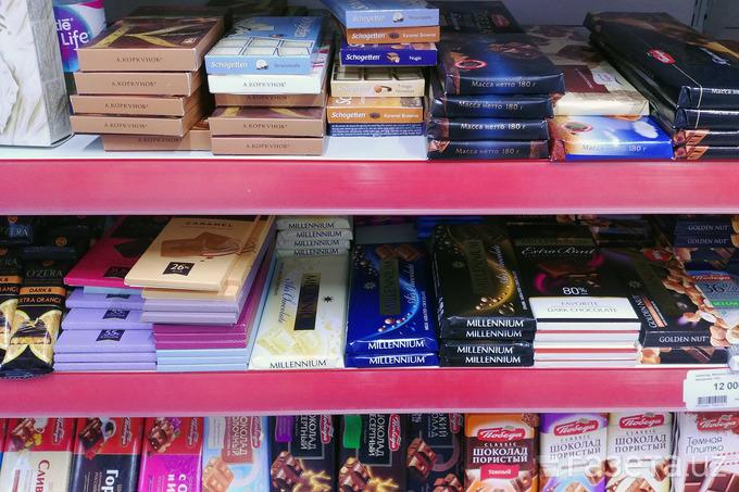 Кондитерские изделия и шоколад