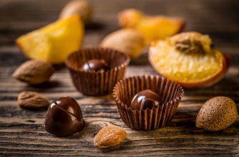 из чего делали шоколадные конфеты сто лет назад