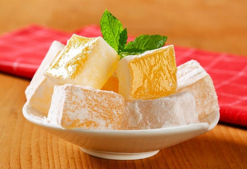 Рахат-лукум из мандаринов: так вкусно, что придется делиться рецептом с гостями