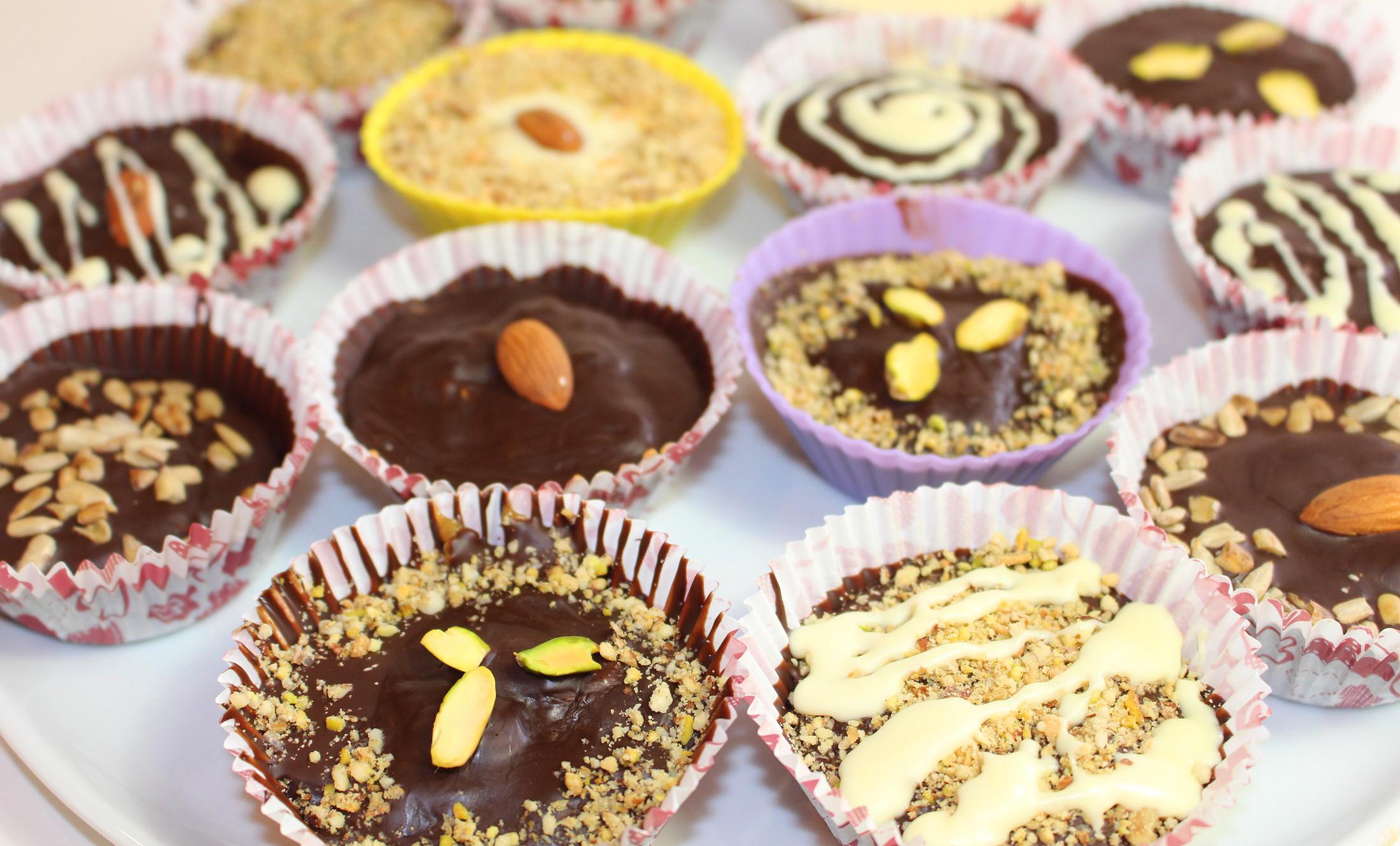 Рецепты шоколадных конфет с твердой начинкой