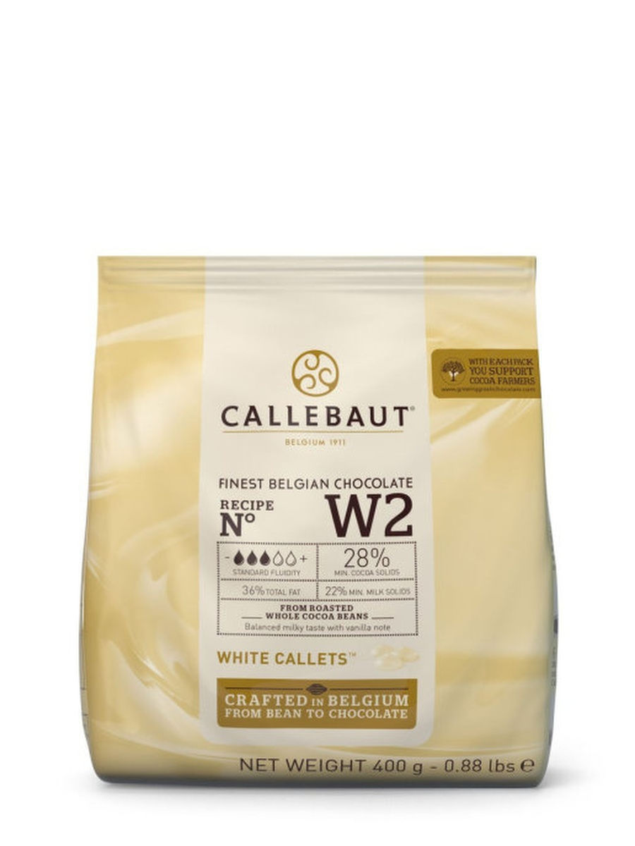 Белый шоколад Callebaut
