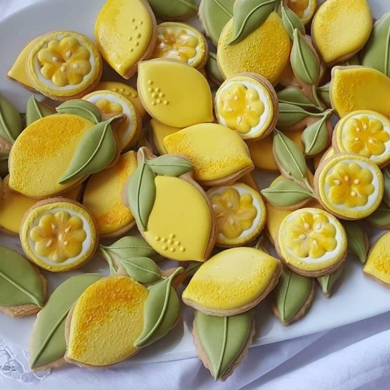 Лимоны в глазури