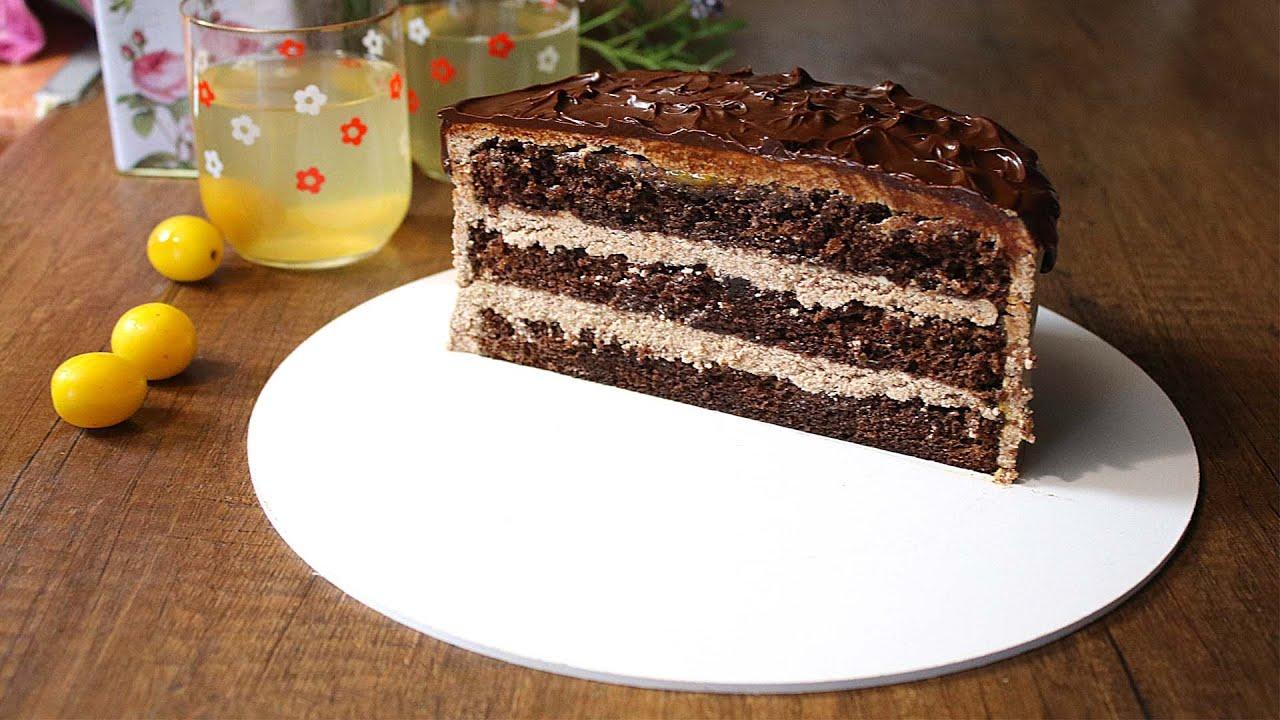 Торт «Прага» классический и с заварным кремом